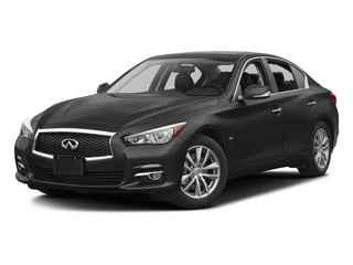 Black Obsidian 2016 INFINITI Q50 Pictures Q50 Sedan 4D 2.0T Premium I4 Turbo photos front view