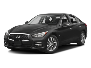 Black Obsidian 2016 INFINITI Q50 Pictures Q50 Sedan 4D 2.0T AWD I4 Turbo photos front view