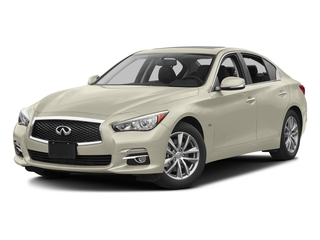 Majestic White 2016 INFINITI Q50 Pictures Q50 Sedan 4D 2.0T Premium I4 Turbo photos front view