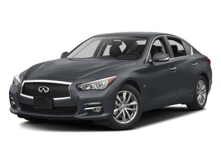 Hagane Blue 2016 INFINITI Q50 Pictures Q50 Sedan 4D 2.0T Premium I4 Turbo photos front view