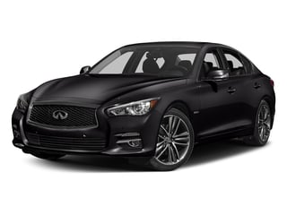 Malbec Black 2016 INFINITI Q50 Pictures Q50 Sedan 4D AWD V6 Hybrid photos front view