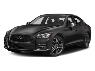 Graphite Shadow 2016 INFINITI Q50 Pictures Q50 Sedan 4D AWD V6 Hybrid photos front view