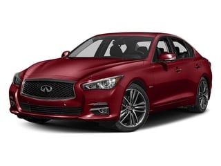 Venetian Ruby 2016 INFINITI Q50 Pictures Q50 Sedan 4D AWD V6 Hybrid photos front view