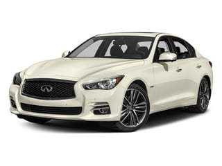 Majestic White 2016 INFINITI Q50 Pictures Q50 Sedan 4D AWD V6 Hybrid photos front view