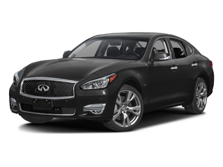 Black Obsidian 2016 INFINITI Q70 Pictures Q70 Sedan 4D V6 photos front view