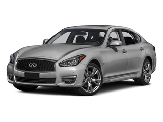 Liquid Platinum 2016 INFINITI Q70L Pictures Q70L Sedan 4D LWB V6 photos front view