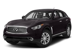 Malbec Black 2016 INFINITI QX70 Pictures QX70 Utility 4D AWD V6 photos front view
