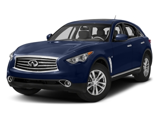 Iridium Blue 2016 INFINITI QX70 Pictures QX70 Utility 4D 2WD V6 photos front view