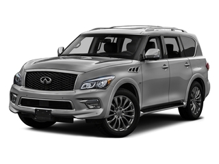 Liquid Platinum 2016 INFINITI QX80 Pictures QX80 Utility 4D 2WD V8 photos front view