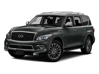 Graphite Shadow 2016 INFINITI QX80 Pictures QX80 Utility 4D Signature AWD V8 photos front view