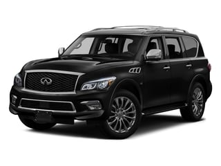 Black Obsidian 2016 INFINITI QX80 Pictures QX80 Utility 4D Signature 2WD V8 photos front view