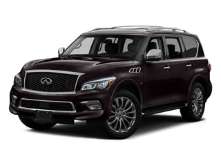 Dark Currant 2016 INFINITI QX80 Pictures QX80 Utility 4D Signature AWD V8 photos front view