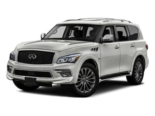 Majestic White 2016 INFINITI QX80 Pictures QX80 Utility 4D Signature AWD V8 photos front view