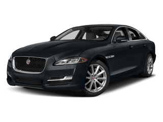 Celestial Black 2016 Jaguar XJ Pictures XJ Sedan 4D R-Sport AWD V6 Supercharged photos front view
