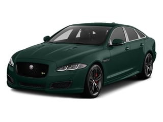 British Racing Green Metallic 2016 Jaguar XJ Pictures XJ Sedan 4D XJR V8 Supercharged photos front view
