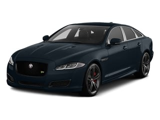 Dark Sapphire Metallic 2016 Jaguar XJ Pictures XJ Sedan 4D XJR V8 Supercharged photos front view