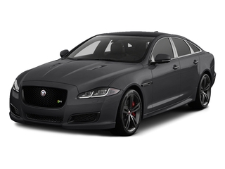 Storm Gray 2016 Jaguar XJ Pictures XJ Sedan 4D XJR V8 Supercharged photos front view