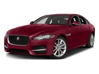 Odyssey Red Metallic 2016 Jaguar XF Pictures XF Sedan 4D 35t R-Sport V6 Supercharged photos front view