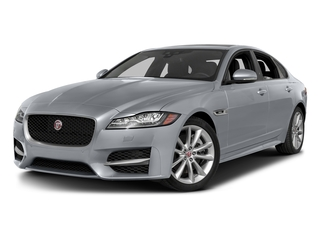 Glacier White Metallic 2016 Jaguar XF Pictures XF Sedan 4D 35t R-Sport AWD V6 Sprchrd photos front view