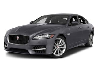 Tempest Gray 2016 Jaguar XF Pictures XF Sedan 4D 35t R-Sport AWD V6 Sprchrd photos front view