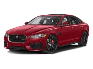 Italian Racing Red Metallic 2016 Jaguar XF Pictures XF Sedan 4D XF-S AWD V6 Supercharged photos front view