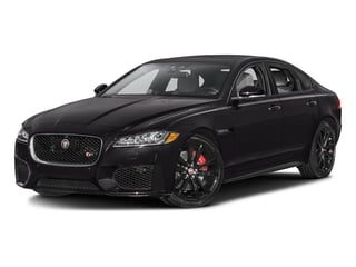 Ultimate Black Metallic 2016 Jaguar XF Pictures XF Sedan 4D XF-S AWD V6 Supercharged photos front view