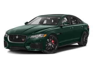 British Racing Green Metallic 2016 Jaguar XF Pictures XF Sedan 4D XF-S AWD V6 Supercharged photos front view