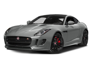 Rhodium Silver Metallic 2016 Jaguar F-TYPE Pictures F-TYPE Coupe 2D S V6 photos front view