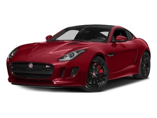 Italian Racing Red Metallic 2016 Jaguar F-TYPE Pictures F-TYPE Coupe 2D S V6 photos front view