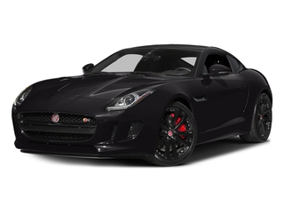 Ultimate Black Metallic 2016 Jaguar F-TYPE Pictures F-TYPE Coupe 2D S AWD V6 photos front view