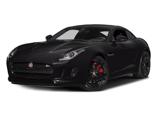 Ultimate Black Metallic 2016 Jaguar F-TYPE Pictures F-TYPE Coupe 2D S V6 photos front view