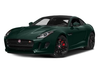 British Racing Green Metallic 2016 Jaguar F-TYPE Pictures F-TYPE Coupe 2D S AWD V6 photos front view