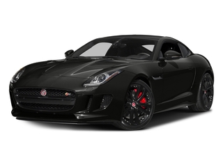 Stratus Gray Metallic 2016 Jaguar F-TYPE Pictures F-TYPE Coupe 2D S V6 photos front view