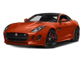 Firesand Metallic 2016 Jaguar F-TYPE Pictures F-TYPE Coupe 2D S V6 photos front view