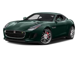 British Racing Green Metallic 2016 Jaguar F-TYPE Pictures F-TYPE Coupe 2D R AWD V8 photos front view