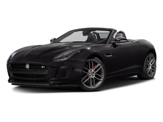 Ultimate Black Metallic 2016 Jaguar F-TYPE Pictures F-TYPE Convertible 2D R AWD V8 photos front view
