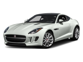 Polaris White 2016 Jaguar F-TYPE Pictures F-TYPE Coupe 2D V6 photos front view