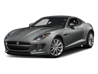 Ammonite Gray Metallic 2016 Jaguar F-TYPE Pictures F-TYPE Coupe 2D V6 photos front view
