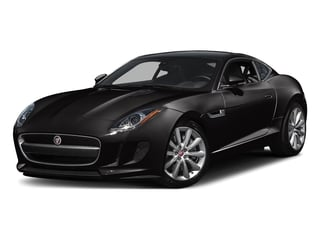 Ultimate Black Metallic 2016 Jaguar F-TYPE Pictures F-TYPE Coupe 2D V6 photos front view