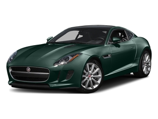 British Racing Green Metallic 2016 Jaguar F-TYPE Pictures F-TYPE Coupe 2D V6 photos front view