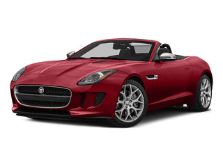 Italian Racing Red Metallic 2016 Jaguar F-TYPE Pictures F-TYPE Convertible 2D V6 photos front view