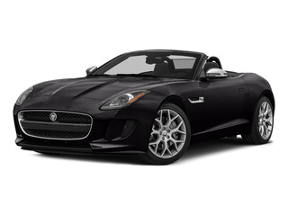 Ultimate Black Metallic 2016 Jaguar F-TYPE Pictures F-TYPE Convertible 2D V6 photos front view