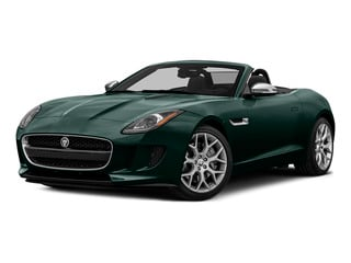 British Racing Green Metallic 2016 Jaguar F-TYPE Pictures F-TYPE Convertible 2D V6 photos front view