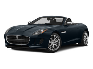 Dark Sapphire Metallic 2016 Jaguar F-TYPE Pictures F-TYPE Convertible 2D V6 photos front view