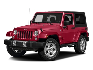 Firecracker Red Clearcoat 2016 Jeep Wrangler Pictures Wrangler Utility 2D Sahara 4WD V6 photos front view