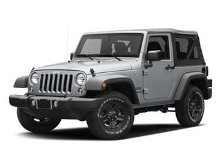 Billet Silver Metallic Clearcoat 2016 Jeep Wrangler Pictures Wrangler Utility 2D Sport 4WD V6 photos front view