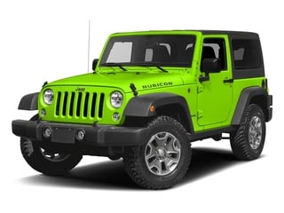 Hypergreen Clearcoat 2016 Jeep Wrangler Pictures Wrangler Utility 2D Rubicon 4WD V6 photos front view