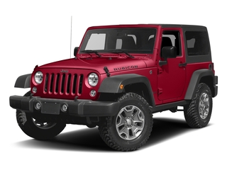 Firecracker Red Clearcoat 2016 Jeep Wrangler Pictures Wrangler Utility 2D Rubicon 4WD V6 photos front view