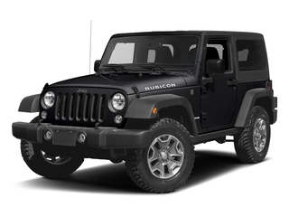 Black Clearcoat 2016 Jeep Wrangler Pictures Wrangler Utility 2D Rubicon 4WD V6 photos front view