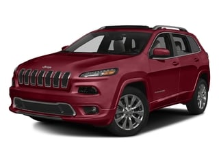 Deep Cherry Red Crystal Pearlcoat 2016 Jeep Cherokee Pictures Cherokee Utility 4D Overland 4WD photos front view